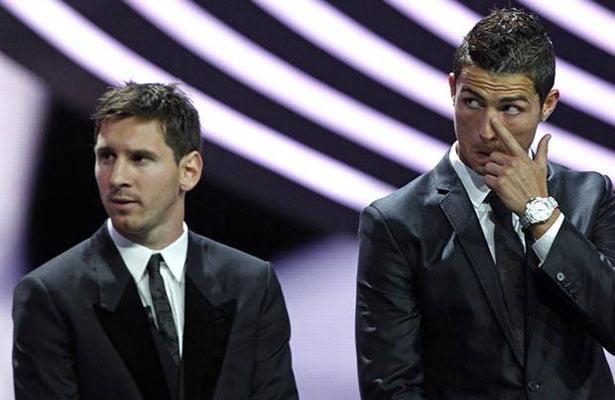 Messi y Ronaldo han ganado los más recientes trofeos de Balón de Oro