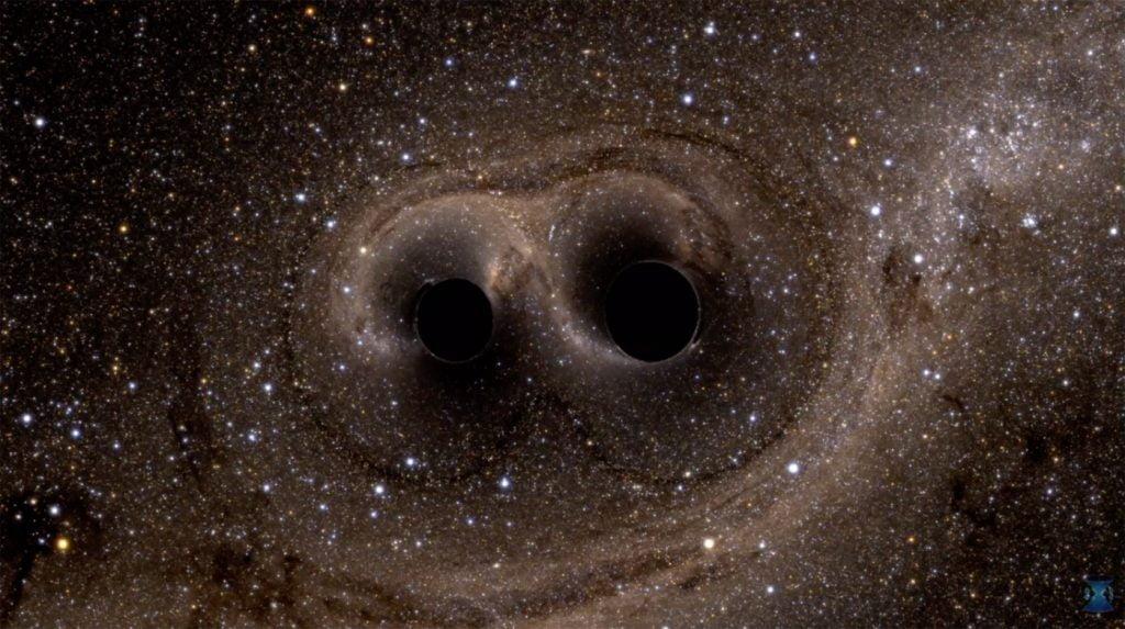 Ondas gravitacionales en la estructura espacio-tiempo