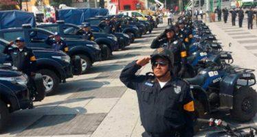 Más de 21 mil policías cuidan a la CDMX con el Operativo Decembrino