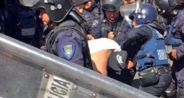 Operativo anti fayuca y anti rateros causa riña en el Centro de la Ciudad de México