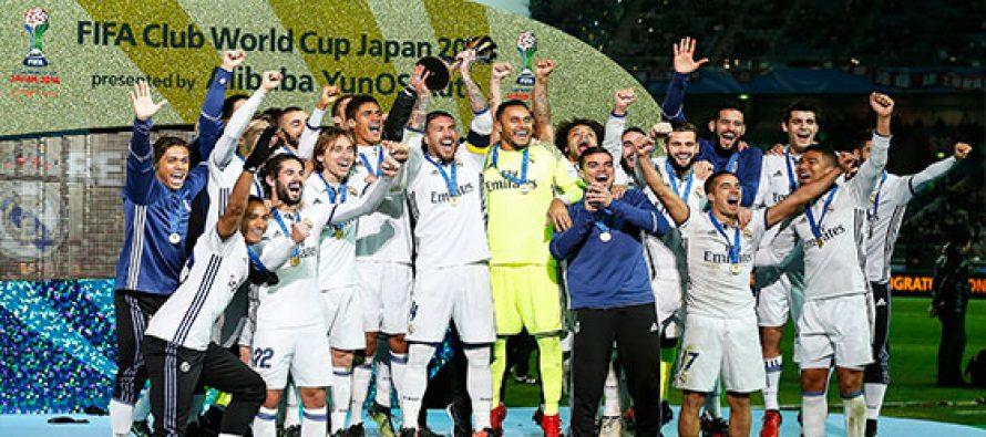Real Madrid se impone al Kashima y es campeón del Mundial de Clubes