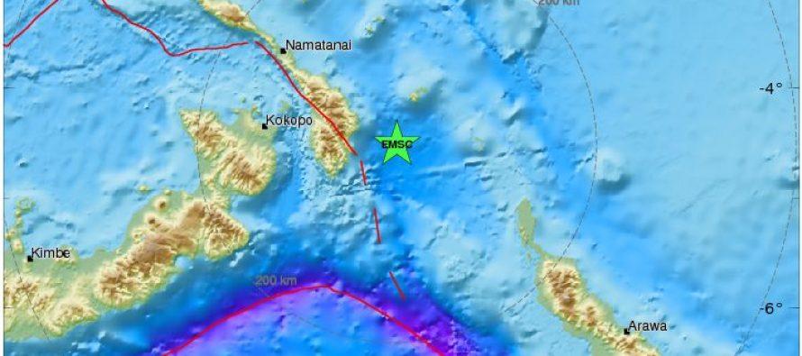 Terremoto sacude el este de Papúa Nueva Guinea; descartan tsunam