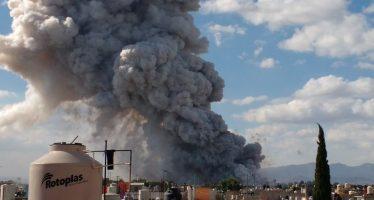 Hay 29 muertos y 72 heridos por explosión en Tultepec, informó gobierno de Edomex