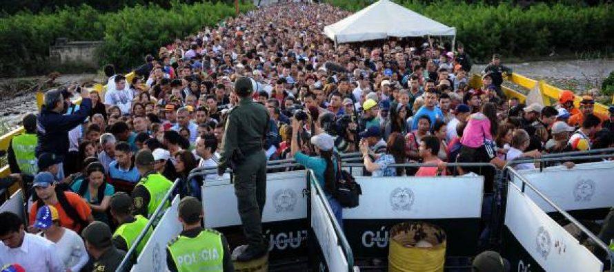 """Ordena Maduro cerrar frontera con Colombia para desarticular """"mafias"""""""