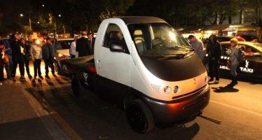 Se presentó vehículo eléctrico de carga desarrollado por la UAM y empresa VEC