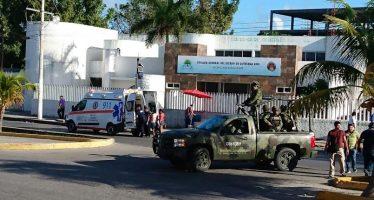 Balacean instalaciones de la Fiscalía General de Quintana Roo; hay un muerto