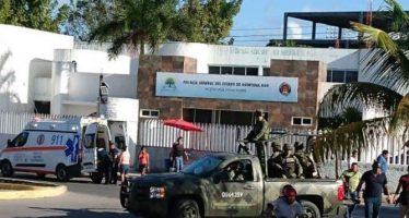 Logran identificar a los atacantes muertos en agresión a Fiscalía de Quintana Roo