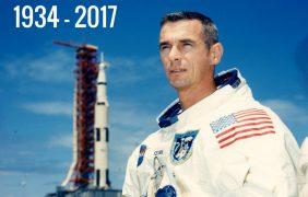 Murió Gene Cernan, último hombre que estuvo en la Luna