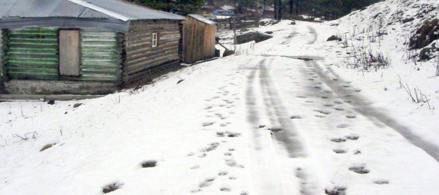 Temperaturas frías en Guanaceví, Durango, llegan a menos 11.5 grados