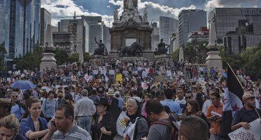 Cuatro marchas afectarán la vialidad en calles de la CDMX