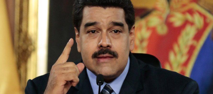 """Madura califica de """"manifiesto golpista"""" pronunciamiento de la Asamblea Nacional"""