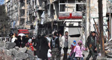 Con la tregua, unas 2,200 familias regresan a Alepo; reconstrucción llevará tiempo