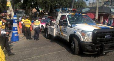 SSP limpia vialidades y retira autos en jornada de recuperación en la CDMX