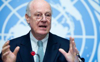 ONU propone posponer pláticas de paz para Siria hasta consolidar el cese al fuego