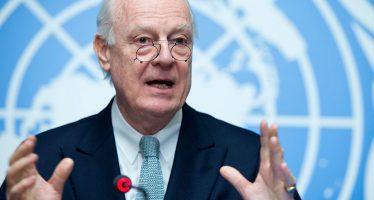 Negociación entre sirios, único camino hacia la paz, dice enviado de la ONU