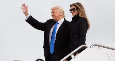 Donald Trump ya está en Washington, a horas de ser investido presidente de EU