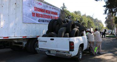 Xochimilco concluye Jornada de Recolección de Llantas</span></p>Por Martín Carlos Estrada