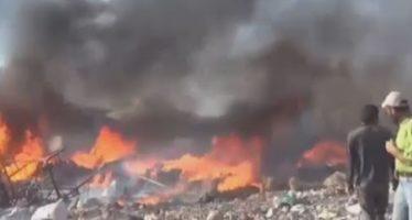Ataques aéreos aniquilan a unos 40 rebeldes islamistas en campo de Alepo