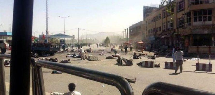 Ataque suicida cerca de Parlamento afgano deja 30 muertos y 80 heridos