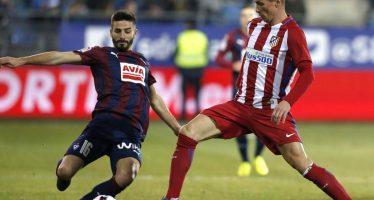 Atlético de Madrid llega a las semifinales de la Copa del Rey