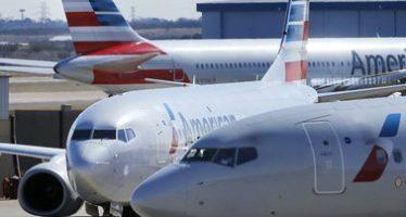 Hallan cocaína por más de 400 mil dólares en nariz de avión de American Airlines