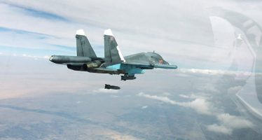 Bombarderos rusos atacaron posiciones del Estado Islámico en Siria