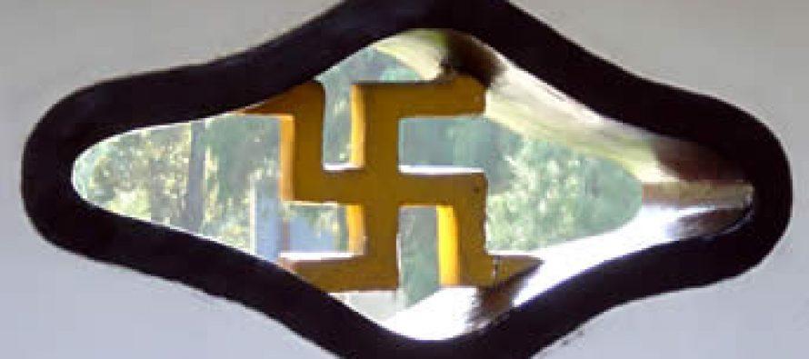 """Crónica del símbolo más bello: La Swastika y la bienaventuranza </span></p> """"Y, elegí la Swastika por ser un símbolo ario&#8230;"""" </span></p> Adolf Hitler  </span></p> </span></p> Mein Kampf"""