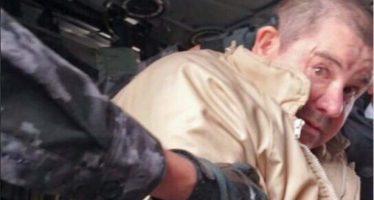 Extraditaron al 'Chapo' Guzmán; llegó al aeropuerto de Long Island y de ahí a prisión