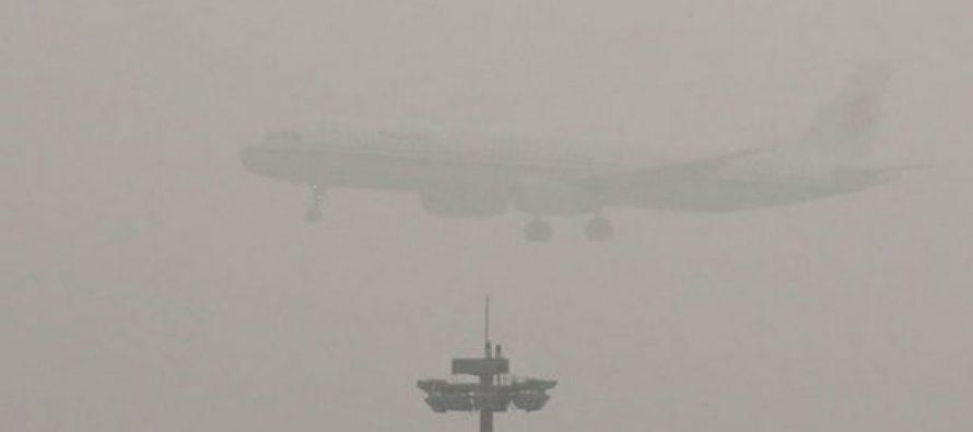 Norte y oriente de China viven alerta roja por contaminación del aire
