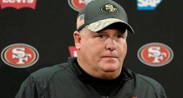 Chip Kelly se despide de su cargo como entrenador de los 49's de San Francisco