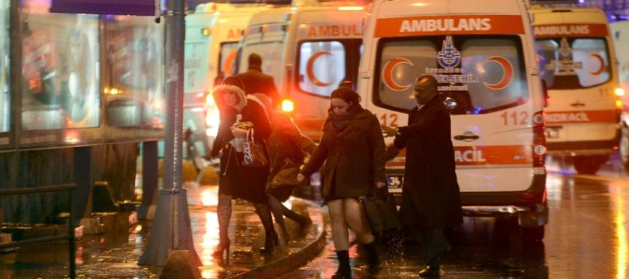 Son extranjeros la mayoría de las víctimas del atentado a club de Turquía