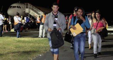 Fueron repatriados 91 cubanos que se encontraban irregularmente en Chiapas