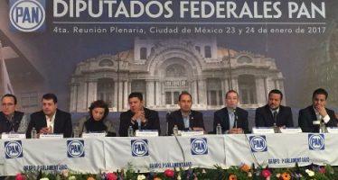Panistas presentarán iniciativas para bajar presupuesto a partidos y reducir número de legisladores