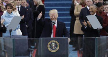 Así fue el día alrededor de la ceremonia de investidura de Trump como presidente de EU