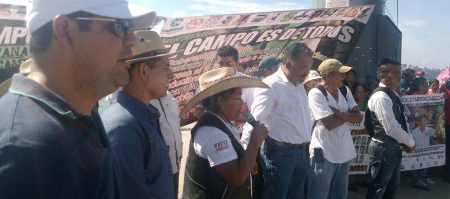 Organizaciones campesinas también se suman a protestas por el gasolinazo