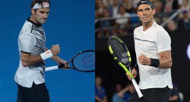Federer vs Nadal, el final esperado por la afición del Abierto de Australia