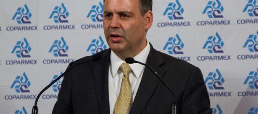 Coparmex declina firmar Acuerdo presentado por EPN; pide un acuerdo real e incluyente