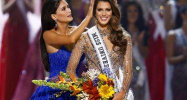 La bella Iris Mittenaere, de Francia, ganó en el concurso Miss Universo 2016