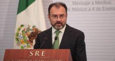 """México no pagará por el muro de Trump, """"no hay manera"""": Videgaray"""