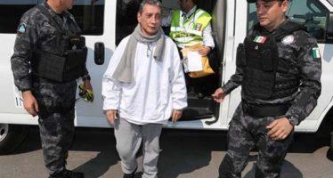 Mario Villanueva fue ingresado a penal del estado de Morelos