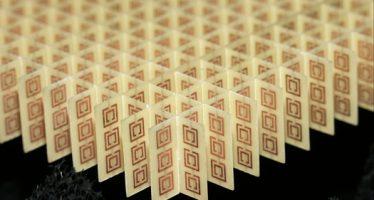 Científicos de la Universidad de Harvard estudian metamateriales reconfigurables