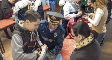 No se hallaron armas en segundo día de programa 'Mochila segura'