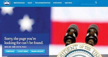 Página de la Casa Blanca en español es retirada de la web