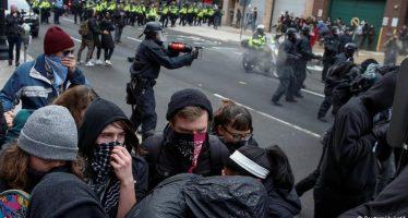 Se eleva a 217 el número de detenidos en protestas anti Trump en Washington