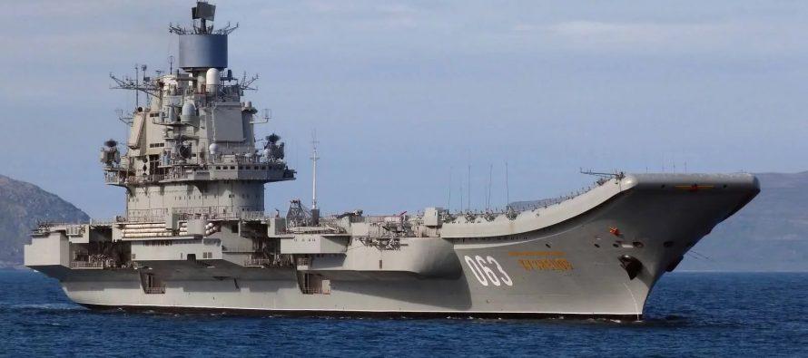 Con el retiro de portaaviones, Rusia inicia el repliegue de sus fuerzas en Siria