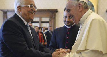 Palestina abre embajada en el Vaticano; Santa Sede le reconoce como Estado