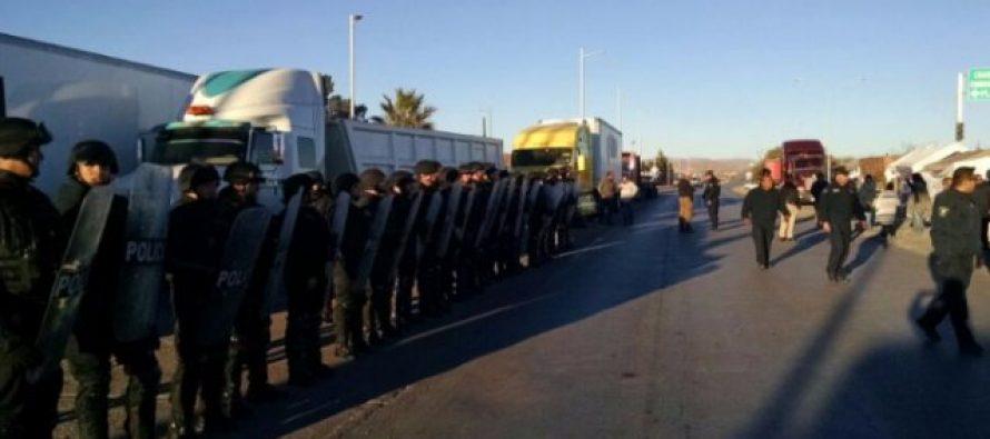 Policía Federal restablece circulación en varias carreteras del país