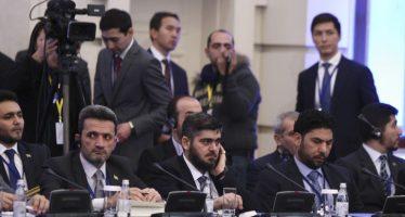 Gobierno y oposición se reúnen en Kazajstán para conversaciones de paz en Siria