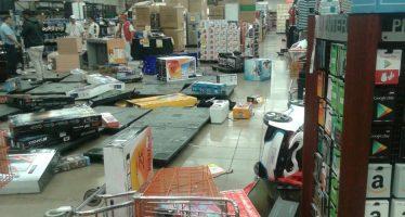Detienen a 46 por saqueo de tiendas de autoservicio y conveniencia en el Estado de México