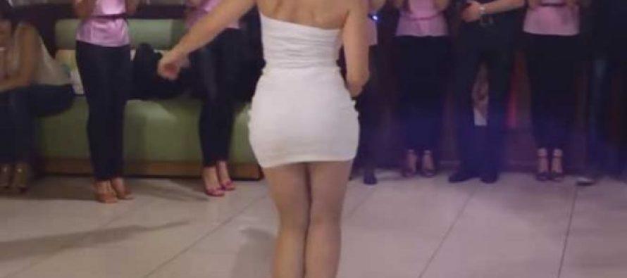 Aclaran identidad de sensual jefa que enloquece en redes con su baile